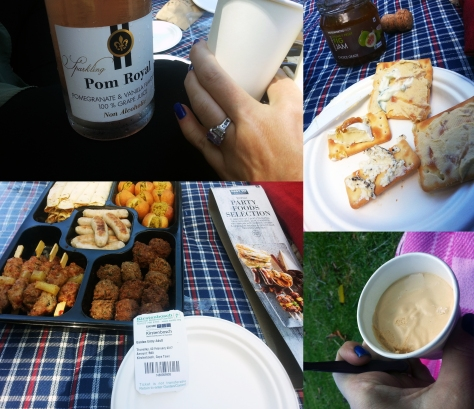 Woolworths picnic snacks