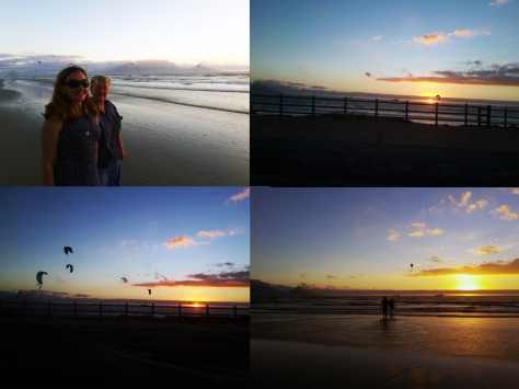 Sunset from Blouberg beach
