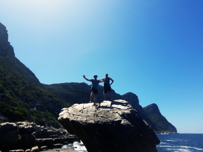 Cape Point ostriches, Imhoff camels, Darling Hills tractor rides and Bertie's 7th birthday