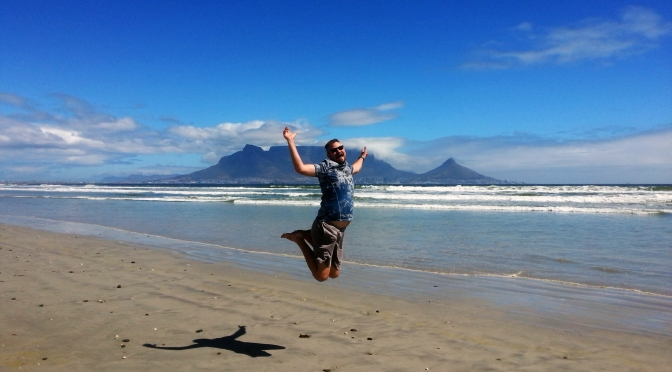 Competitive beach jumping, Design Indaba 2017 & Catharina's new lunch menu