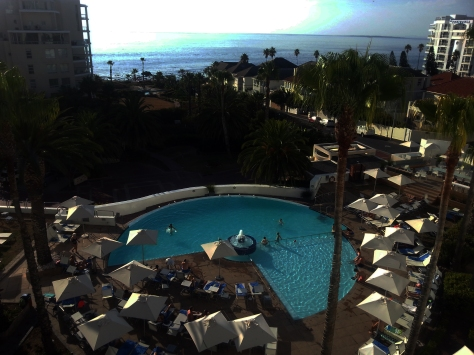 President Hotel pool