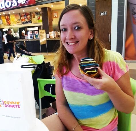 Doughnut from Dunkin' Donuts