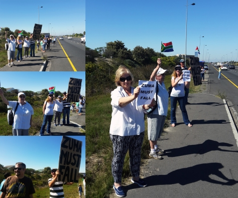 Save SA march in Sunningdale