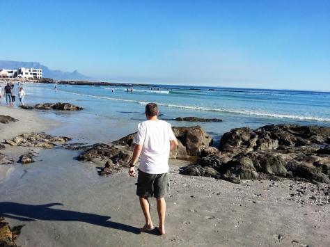 Beach walk.