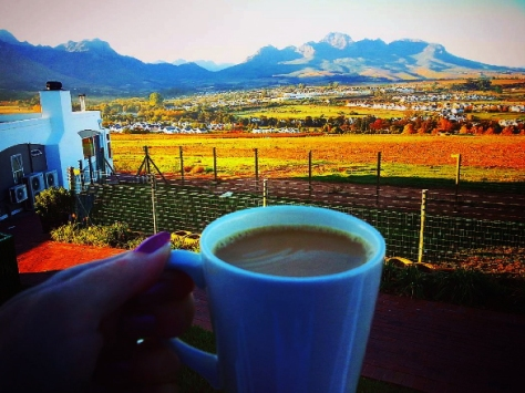 Coffee in Stellenbosch