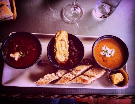 Soups at Constantia Glen