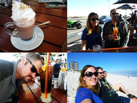 News Cafe Blouberg hot chocolate