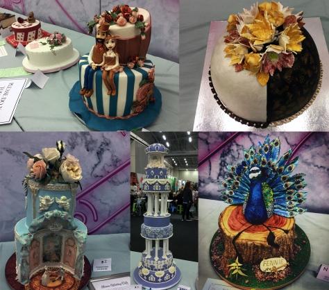 Peacock cake at GFWS