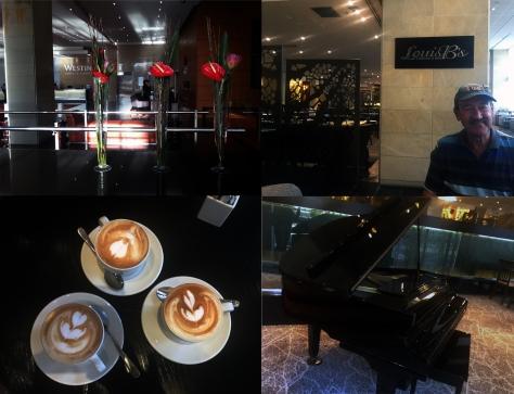 Coffee at Westin Hotel