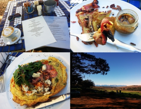Breakfast at Tables at Nitida