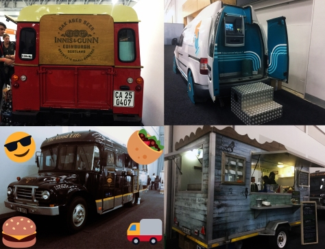 Food trucks at GFWS
