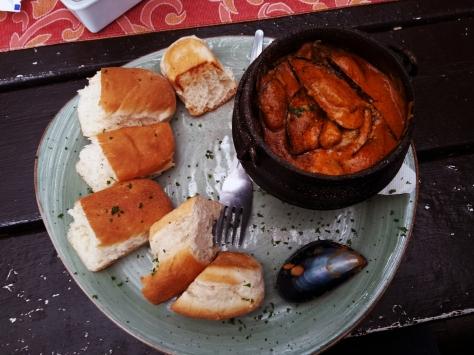 Mussel pot at Driftwood