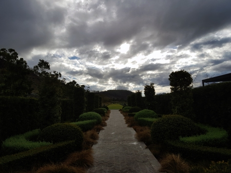 Winter at Leeu Estates in Franschhoek