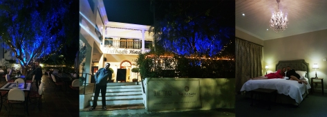 Tulbagh Hotel at night