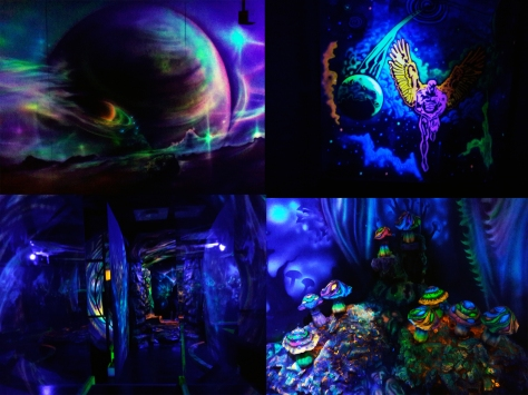 Glowing Rooms scenery