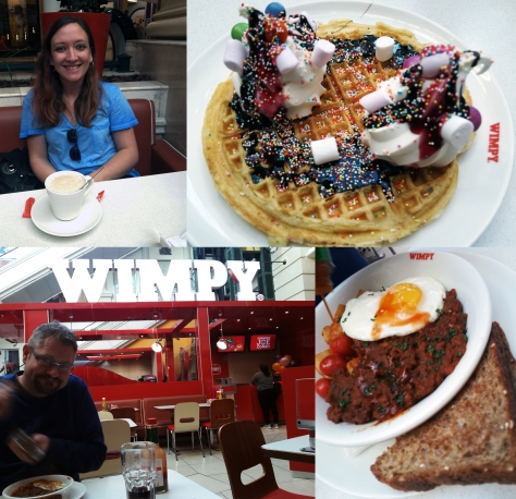 Wimpy waffle