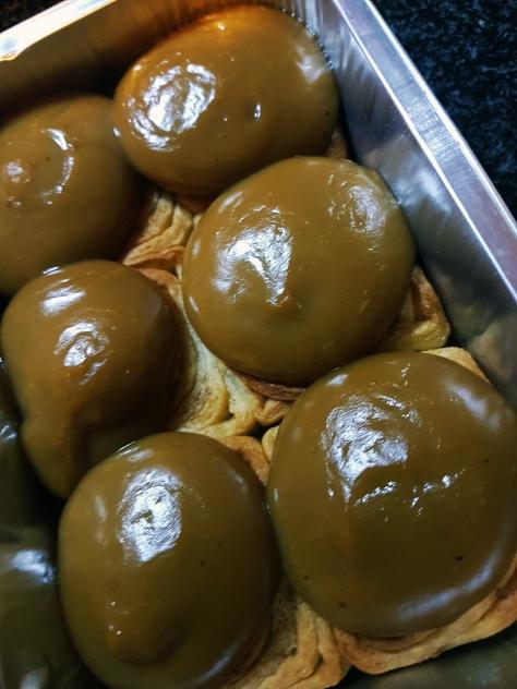 Caramel braai pudding