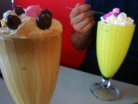 Wimpy milkshakes