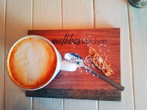 Melkbos Kitchen cappuccino