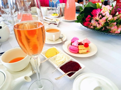 Pink high tea at 12 Apostles