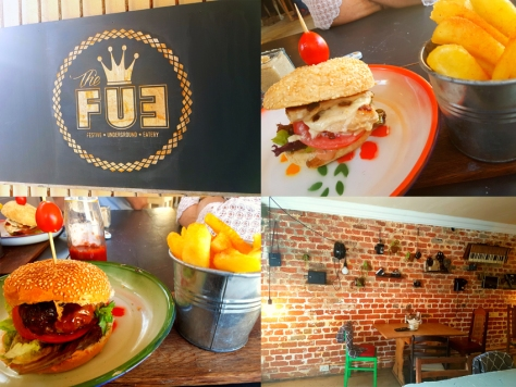 The FUE or Festive Underground Eatery