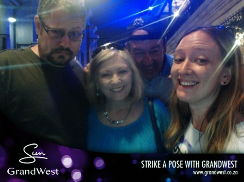 Strike a pose at GrandWest Casino