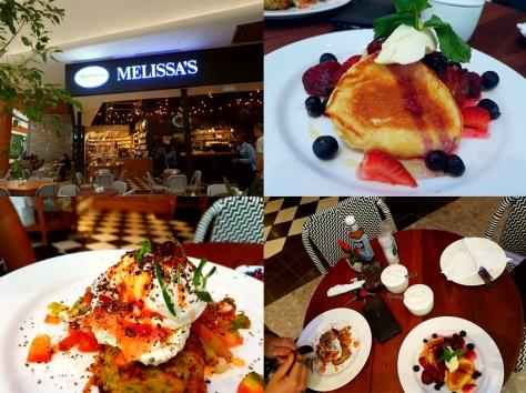 Melissa's breakfast