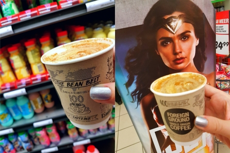 Wonderwoman coffee