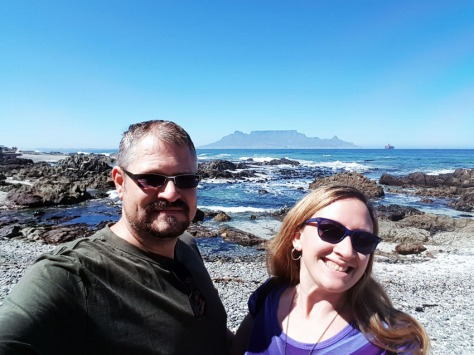 Selfie at Table Mountain