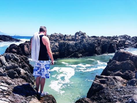 Sea swim in Cape Town