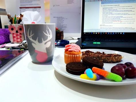 Cake in office