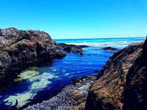 Blouberg sea