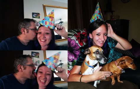 Birthday hat.