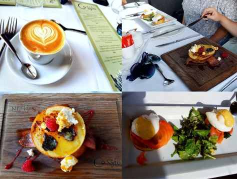 Food at Cassia at Nitida