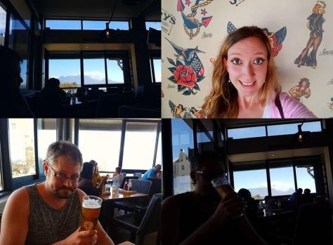 Beer at Jerry's Burger Bar