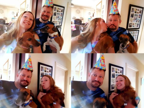 Birthday hat photos