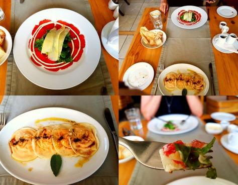 95 Keerom ravioli and carpacchio