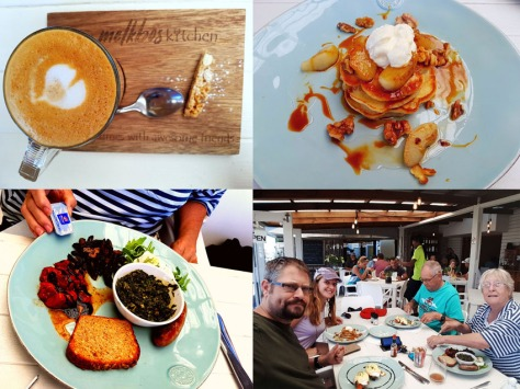 Breakfast at Melkbos Kitchen.