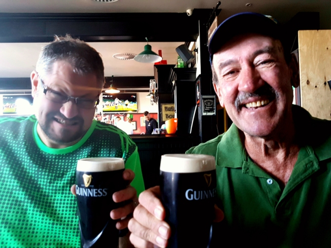 Bringing in St Patrick's Day and Human Right's Day 2018