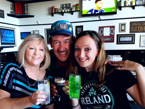 St Patrick's Day at the Brazen Head