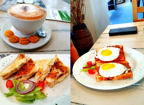 Cafe Lacomia breakfast