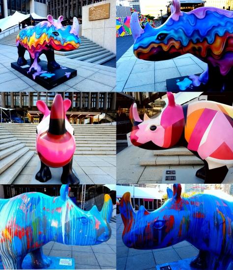 Design Indaba rhinos