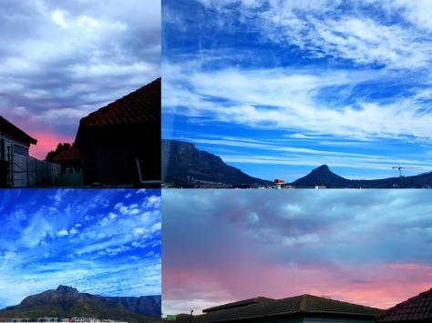 Clouds in Cape Town