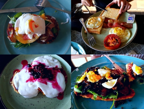 Breakfast at Village Place Cafe