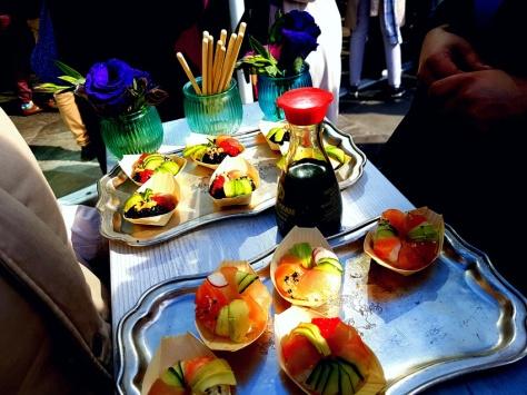 Sushi at Grand Life Cafe