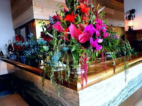 Flowers at Grand Life Cafe