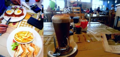 Breakfast at Cafe Lacomia