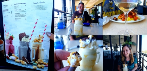 Caramel pop gourmet shake at CTFM.