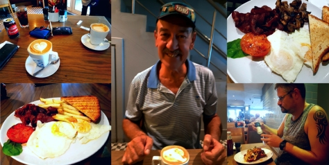 Breakfast at News Cafe