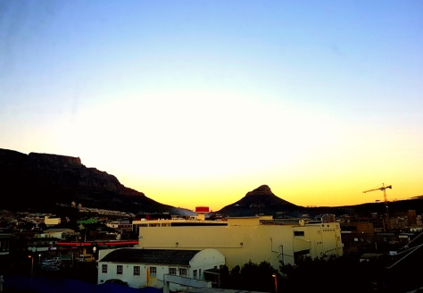 Sunset over Lion's Head